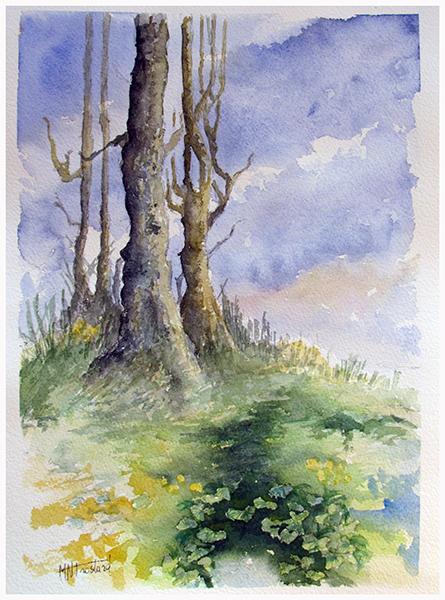 les vieux arbres