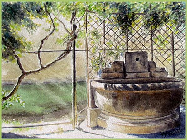 Dans le jardin de Compiegne