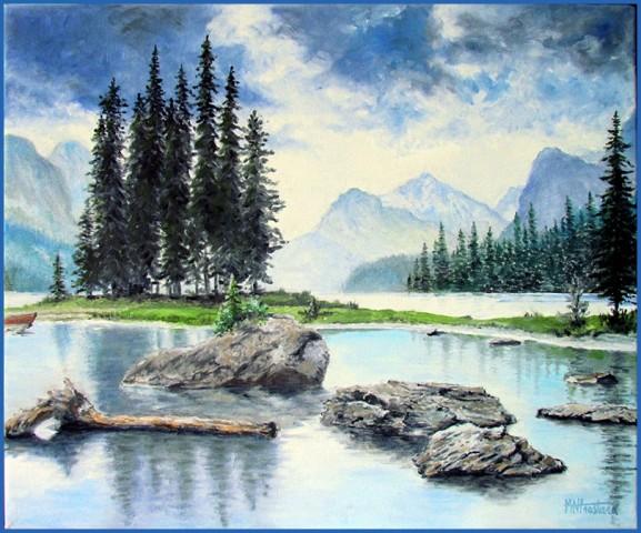 Lac Maligne Canada