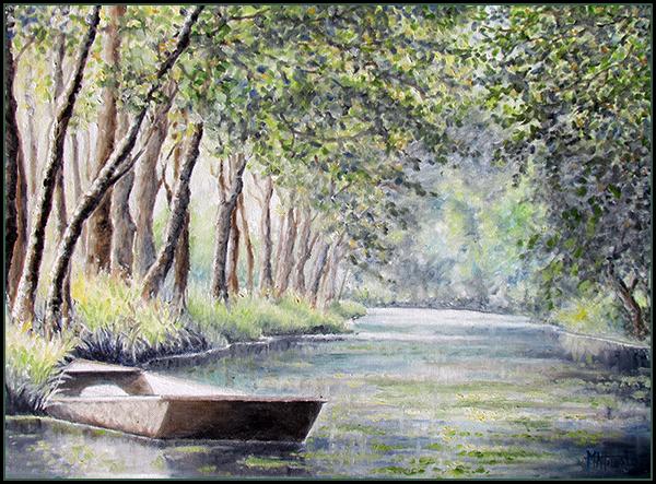 Marais dans le Poitou